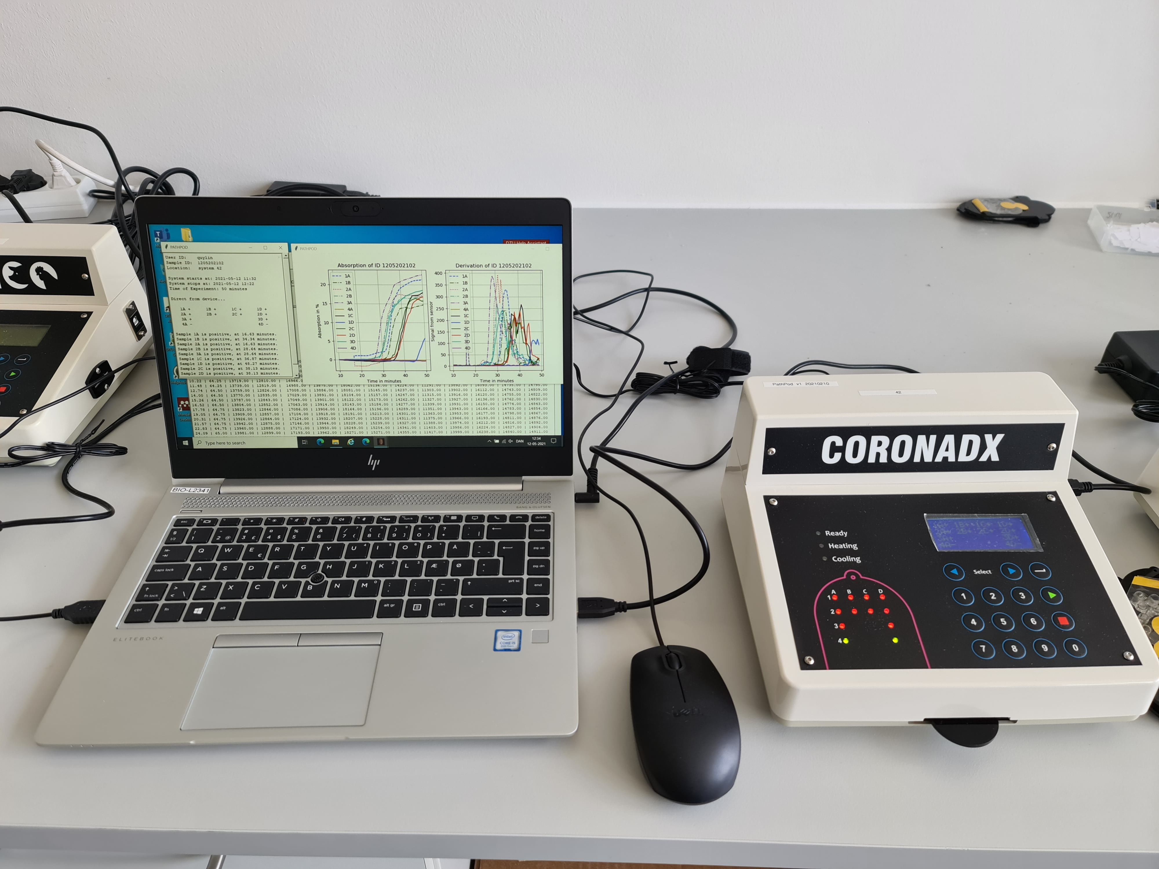 PATHPOD and laptop